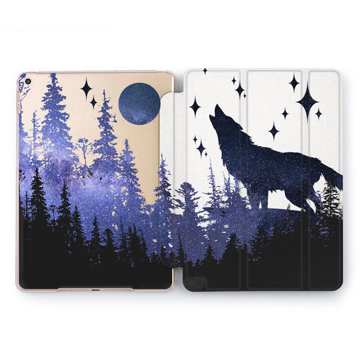 Lex Altern Night Wolf Case for your Apple tablet.