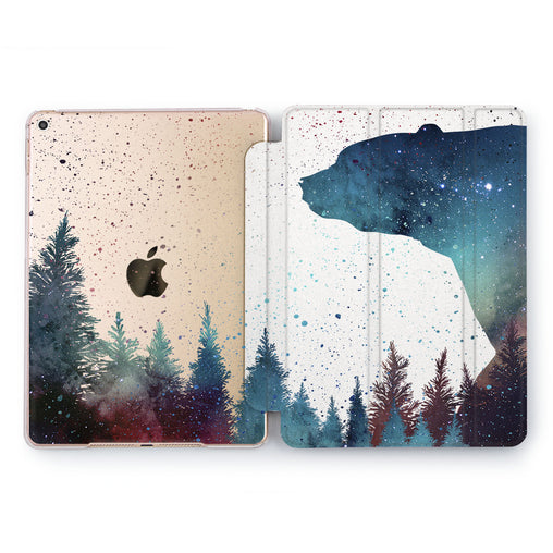 Lex Altern Forest Bear Case for your Apple tablet.