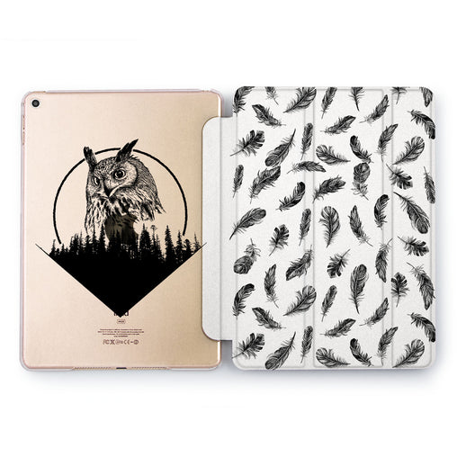 Lex Altern Black Owl Case for your Apple tablet.