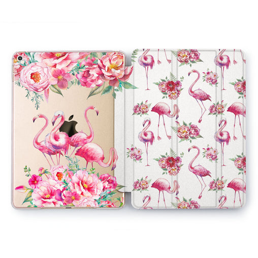 Lex Altern Rose Flamingo Case for your Apple tablet.