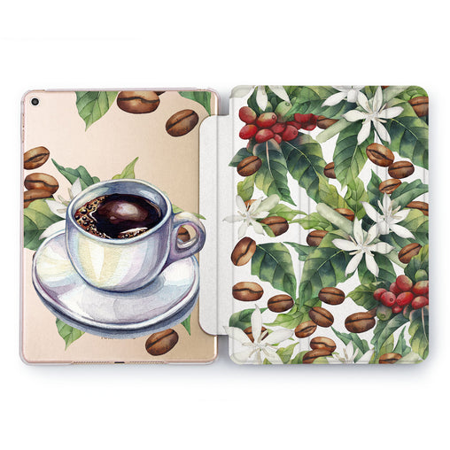 Lex Altern Coffee Grains Case for your Apple tablet.