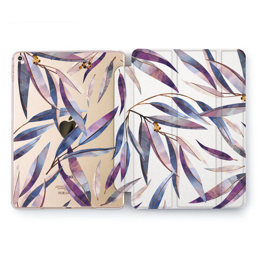 Lex Altern Bright Leaves Case for your Apple tablet.
