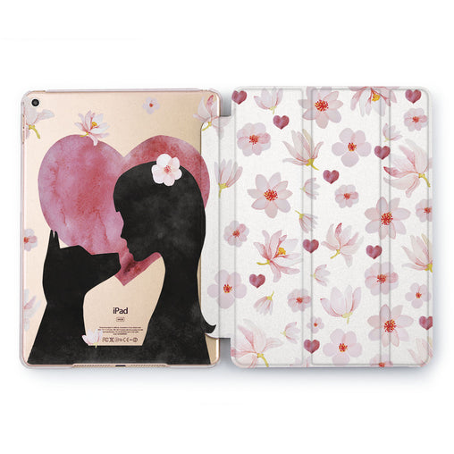 Lex Altern Girl & Dog Case for your Apple tablet.