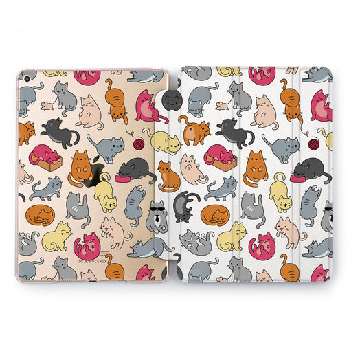 Lex Altern Cute Kittens Case for your Apple tablet.