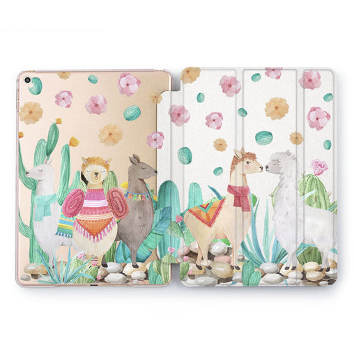 Lex Altern Lama love Case for your Apple tablet.