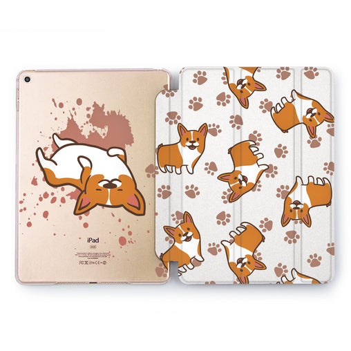 Lex Altern Corgi Paws Case for your Apple tablet.
