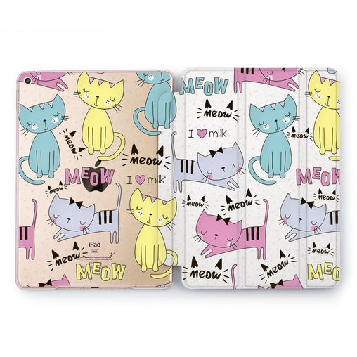 Lex Altern I love Milk Case for your Apple tablet.