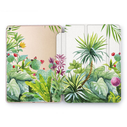 Lex Altern Tropical View Case for your Apple tablet.