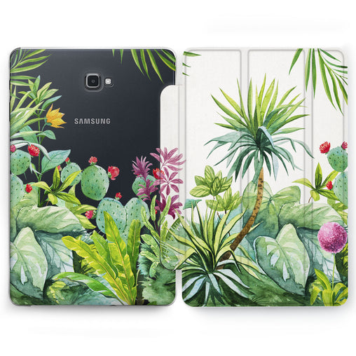Lex Altern Tropical View Case for your Samsung Galaxy tablet.