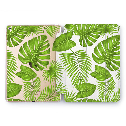 Lex Altern Green Pattern Case for your Apple tablet.