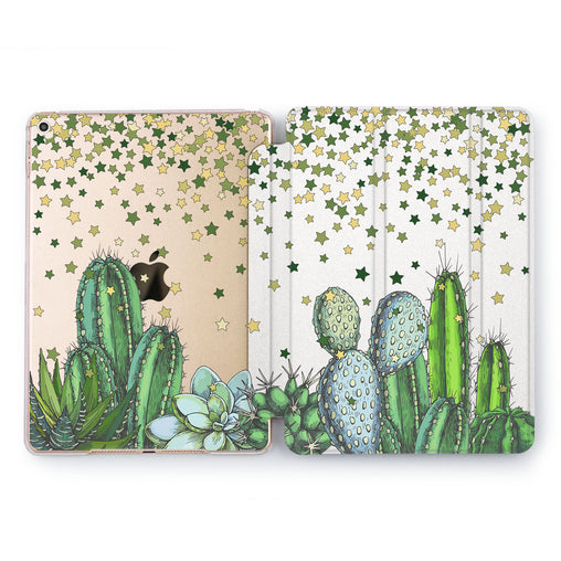 Lex Altern Cactus Stars Case for your Apple tablet.