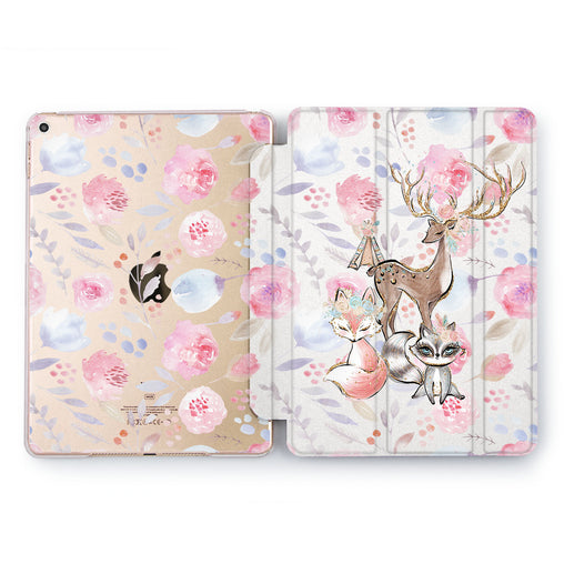 Lex Altern Forest Friends Case for your Apple tablet.