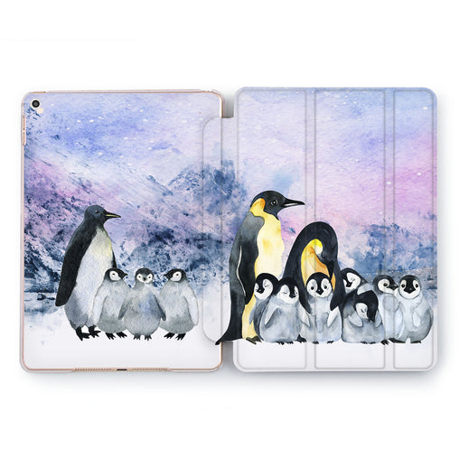 Lex Altern Polar Penguin Case for your Apple tablet.