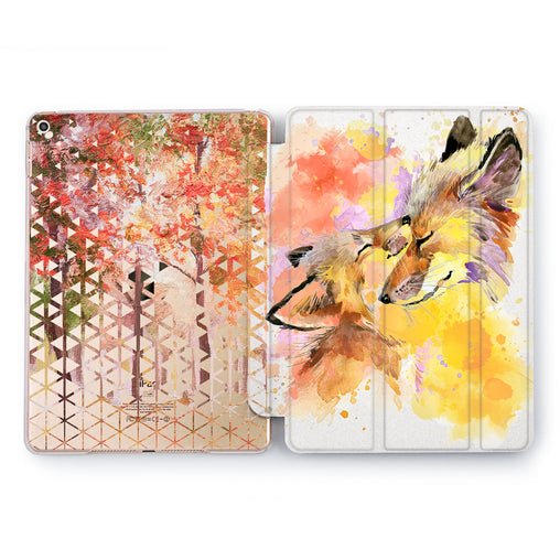 Lex Altern Two Foxes Case for your Apple tablet.