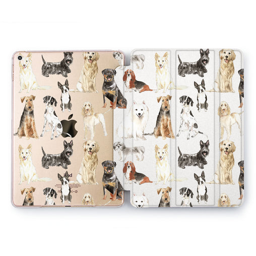 Lex Altern Big Dogs Case for your Apple tablet.
