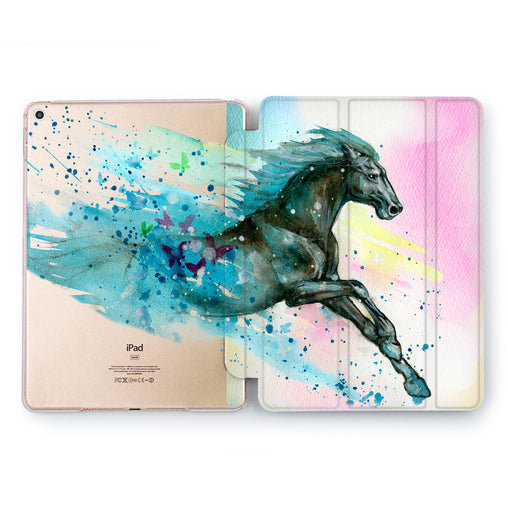Lex Altern Horse Gallop Case for your Apple tablet.