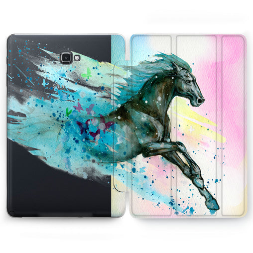 Lex Altern Horse Gallop Case for your Samsung Galaxy tablet.