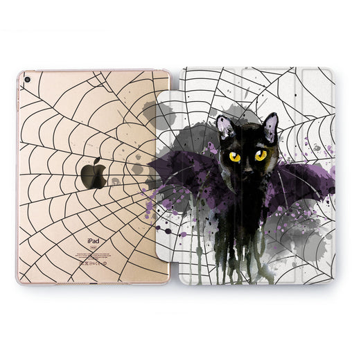 Lex Altern Black Cat Case for your Apple tablet.