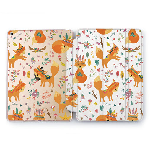 Lex Altern Indian Fox Case for your Apple tablet.