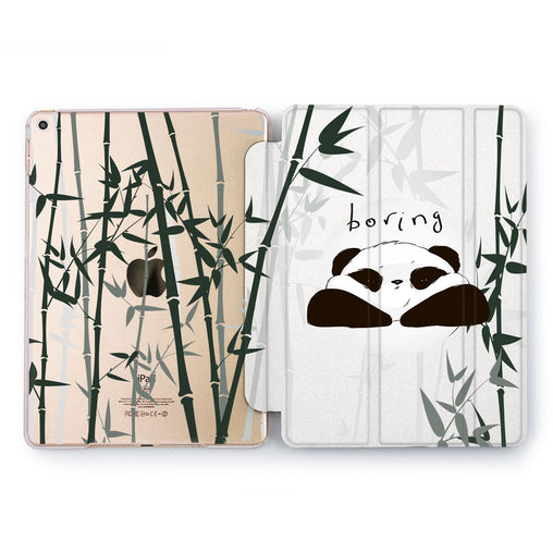 Lex Altern Bamboo Panda Case for your Apple tablet.