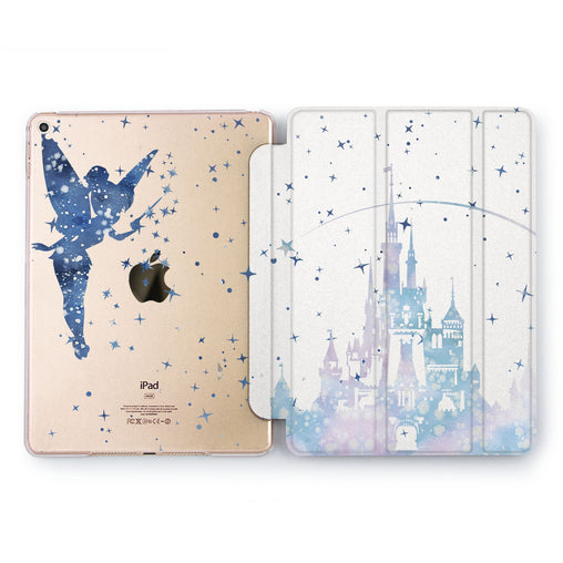 Lex Altern Blue Tinker Bell iPad Case for your Apple tablet.