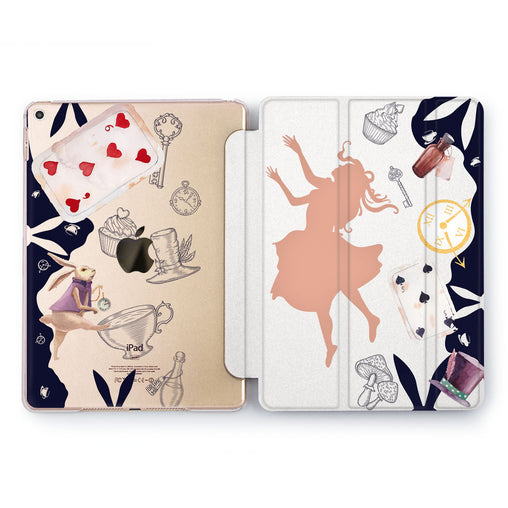 Lex Altern Alise In Wonderland iPad Case for your Apple tablet.