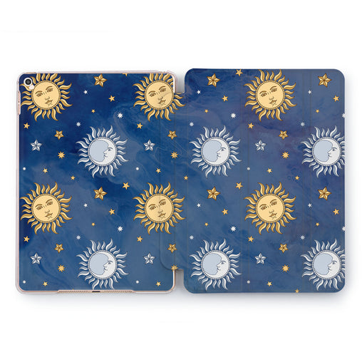 Lex Altern Sun And Moon Case for your Apple tablet.