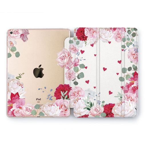 Lex Altern Rose Love Case for your Apple tablet.