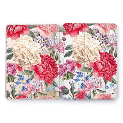 Lex Altern Carnation Pattern Case for your Apple tablet.