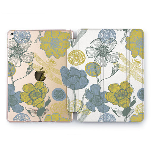 Lex Altern Colorit Flowers Case for your Apple tablet.