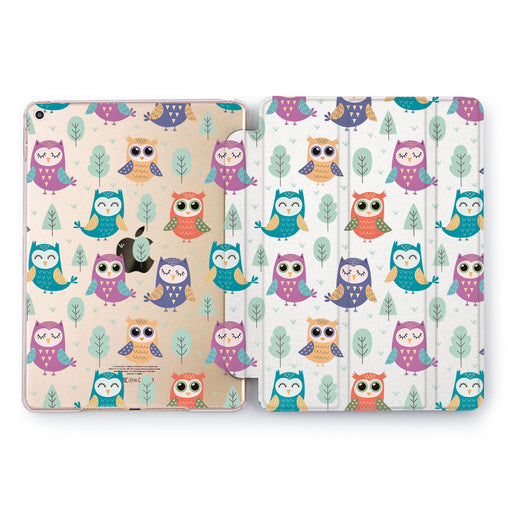 Lex Altern Cute Owls Case for your Apple tablet.