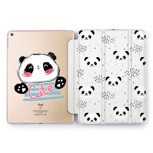 Lex Altern Cute Panda Case for your Apple tablet.