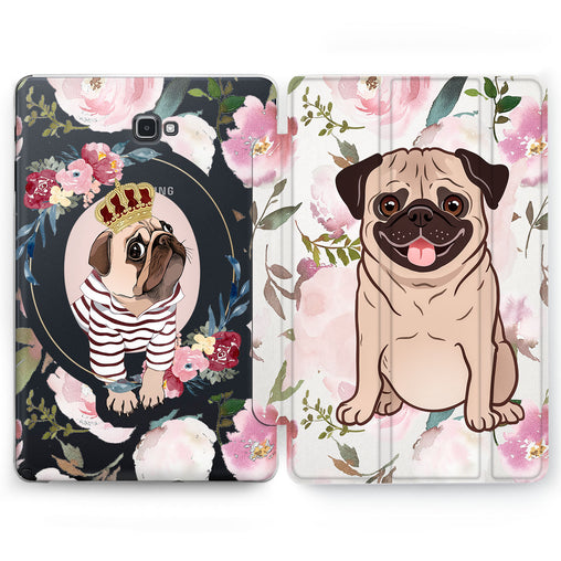 Lex Altern King Pug Case for your Samsung Galaxy tablet.