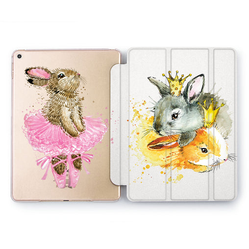 Lex Altern King Rabbit Case for your Apple tablet.