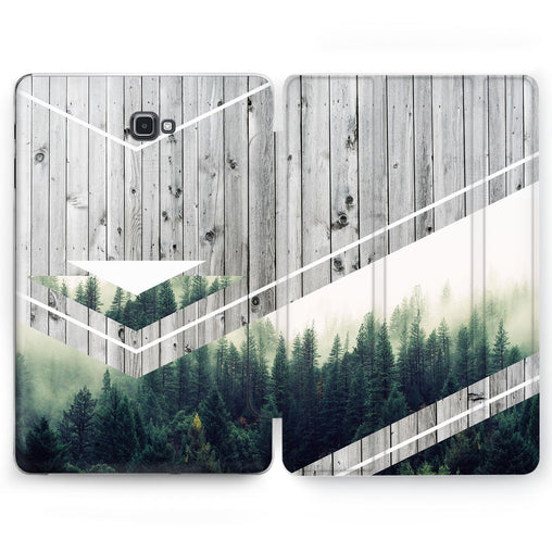 Lex Altern Plank Forest Case for your Samsung Galaxy tablet.