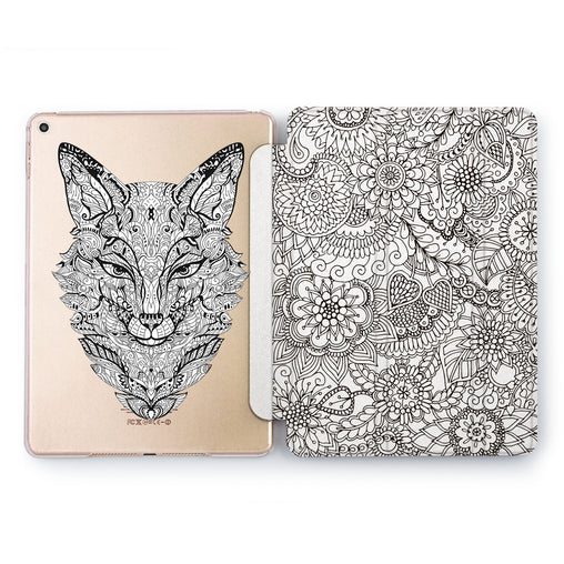 Lex Altern Boho Fox Case for your Apple tablet.