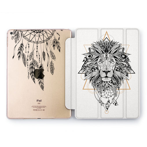 Lex Altern Boho Lion Case for your Apple tablet.
