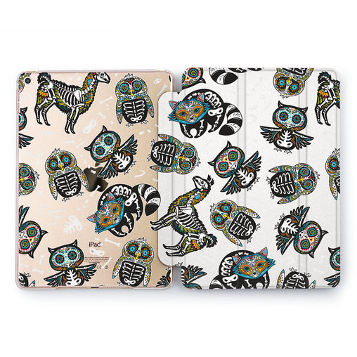 Lex Altern Animal Skeletons Case for your Apple tablet.