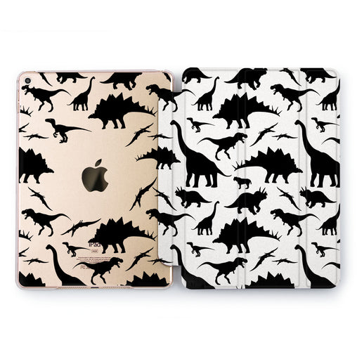 Lex Altern Cute Dinosaurs Case for your Apple tablet.