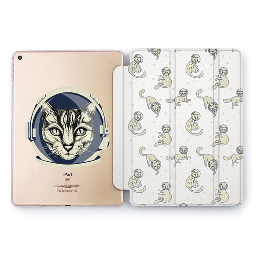 Lex Altern Cat Astronaut Case for your Apple tablet.