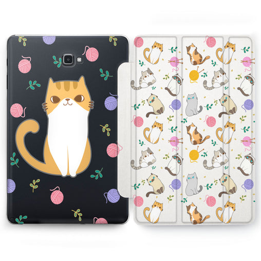 Lex Altern Kawaii Cat Case for your Samsung Galaxy tablet.