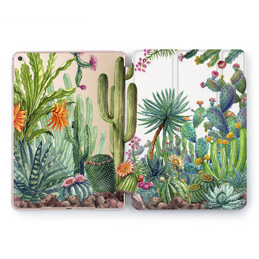 Lex Altern Tropical Cactus iPad Case for your Apple tablet.