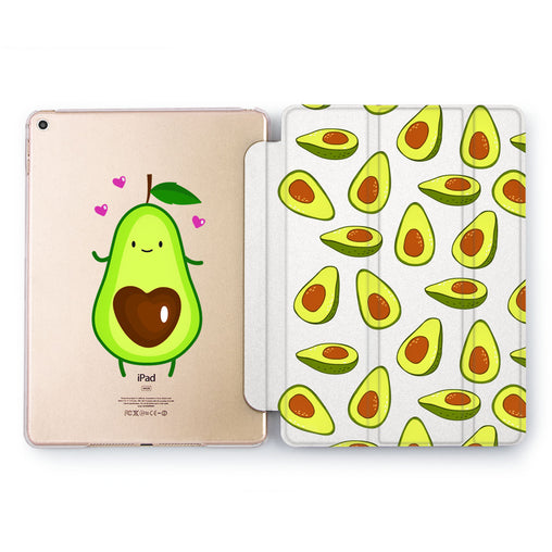 Lex Altern Avocado Heart Case for your Apple tablet.