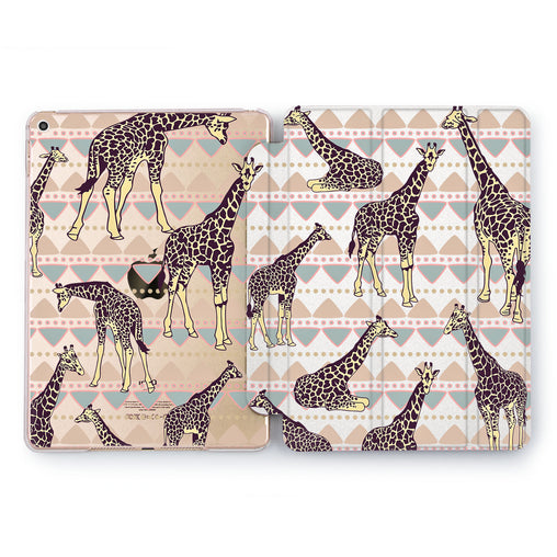 Lex Altern Boho Giraffe Case for your Apple tablet.