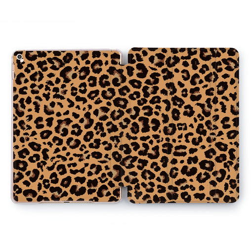 Lex Altern Cheetah Shell Case for your Apple tablet.