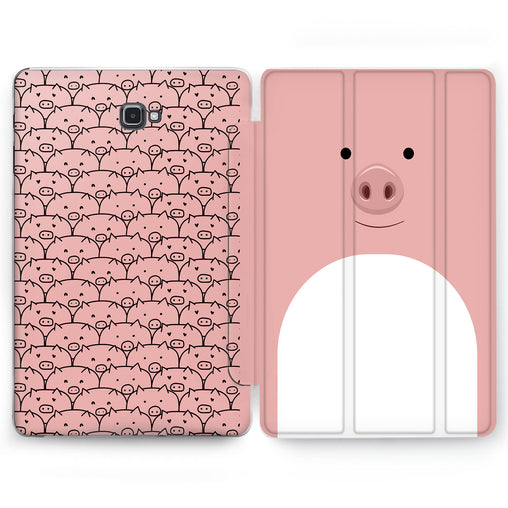 Lex Altern Piggy Pattern Case for your Samsung Galaxy tablet.
