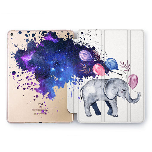 Lex Altern Elephant Dreams Case for your Apple tablet.