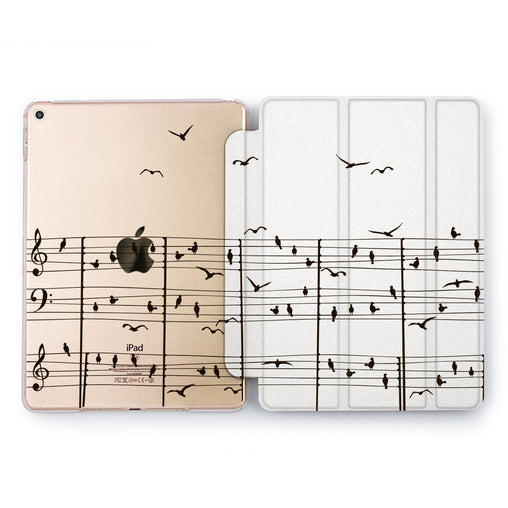 Lex Altern Musical Birds Case for your Apple tablet.