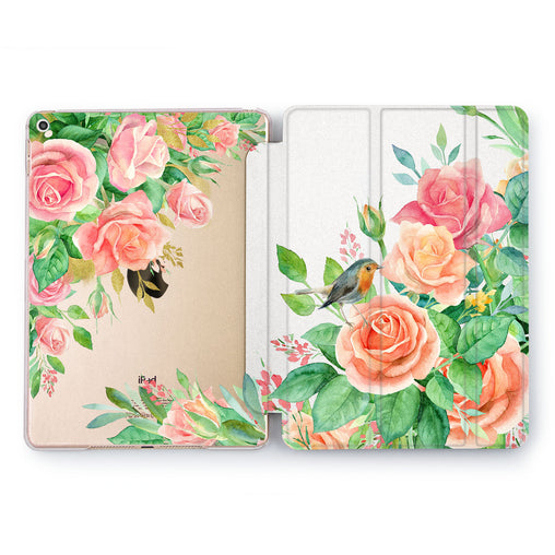 Lex Altern Floral Bird Case for your Apple tablet.