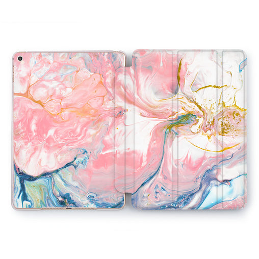 Lex Altern Aquarelle Marble iPad Case for your Apple tablet.
